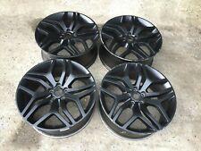 "4 X RANGE ROVER SPORT L494 22"" Style 17 508 5008 Noir Genuine OEM alloy wheels"