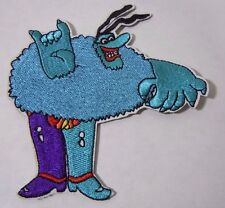 BLUE MEANIE - Beatles Yellow Submarine - Embroidered Iron-On Patch - 4""