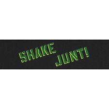 SHAKE JUNT - SPRAYED GRIPTAPE - YELLOW GREEN - SKATEBOARD SKATE GRIP BAKER NEW