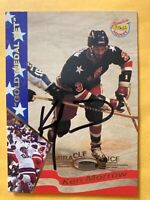 *SIGNED* KEN MORROW 1995 #22 SIGNATURE ROOKIES **GOLD MEDAL SET**~MIRACLE ON ICE