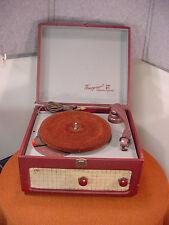 Vintage Webster-Chicago 3-Speed Tube Record Player Model 130-1 Needs Work