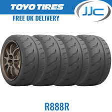 4 x 185/60/13 80V Toyo R888R Trackday/Race E Marked Tyres - 1856013