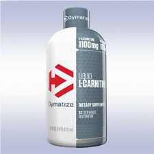 DYMATIZE LIQUID L-CARNITINE (16 oz) lose fat boost metabolism elite 100 iso whey