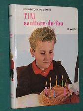 TIM souliers de feu U. WÖLFEL ill. Napoli bibliothèque de l'amitié Rageot