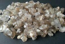 Elestial smokey skeletal enhydro quartz crystal