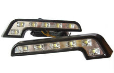 L Shape DRL High Power LED Lights Lighting Lamp Renault Scenic Kangoo Laguna