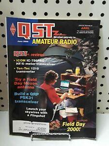 QST MAGAZINE AMATEUR RADIO, JUNE 2000 VINTAGE