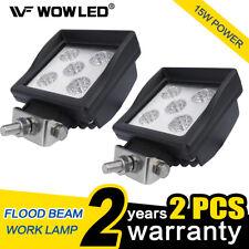 WOW - 2 X 15W LED Work Light Lamp Flood High Power Reverse Car Truck Lamp 4WD