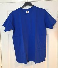 Fruit of the Loom Camiseta azul M NUEVO