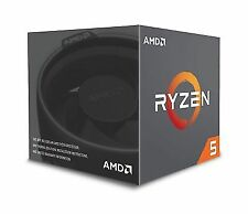 AMD Ryzen 5 2600 6-core 19 MB Cache CPU With Wraith Stealth Cooler Socket Am4