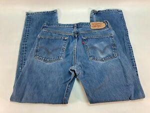Levi's Levi Strauss 501 Denim Blue Jeans Size 34 x 34 (33 x 33)