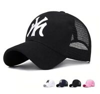 Baseball Cap Men/Women Mesh back Sunshade Adjustable Outdoor Travel Casual Hat