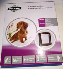 PetSafe Staywell Pet Door 730EF Original Small 2 Way Brown BRAND NEW