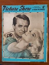 Vintage Picture Show & Film Pictorial Feb 15, 1958 JAYNE MANSFIELD CARY GRANT