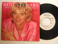 Rod Stewart 45 w/ps I DON'T WANT TO TALK ABOUT IT / BEST DAYS OF MY LIFE~WB VG++