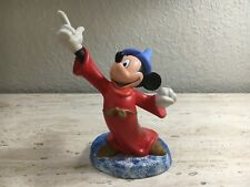"""DISNEY CLASSIC COLLECTION MICKEY MOUSE 70TH BIRTHDAY FANTASIA WDCC FIGURINE 6""""H"""