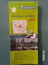 CARTE MICHELIN N°101 BANLIEUE DE PARIS PERIPHERIQUE FRANCILIENNE - Ed.2018 NEUVE