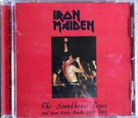 """IRON MAIDEN """"THE SOUNDHOUSE TAPES AND RARE EARLY TRACKS 1978-1981"""" (RARE CD)"""