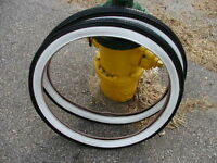 Columbia script tires bicycle Balloon 26X2.125 White Wall balloon brick tread