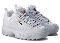 FILA DISRUPTOR scarpe donna ragazzo sportive sneakers running basket pelle zeppa
