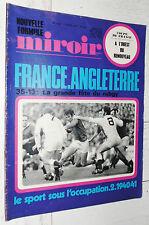 MIROIR SPRINT 1243 1970 RUGBY XV FRANCE-ENGLAND MERCKX FOOTBALL RENNES ASSE