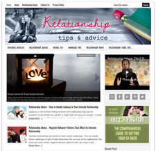 * RELATIONSHIP TIPS * blog website business for sale w/ DAILY AUTOMATIC CONTENT