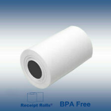 "Credit Card 2 1/4"" x 50' Bpa free Thermal Paper Rolls Nurit 8000 - 50 Rolls/case"