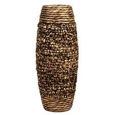 Elegant Expressions by Hosley Natural Water Hyacinth Vase Brown
