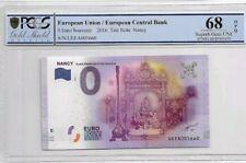 2016 European Union 0 Euro Souvenir PCGS68 OPQ SUPERB GEM UNC