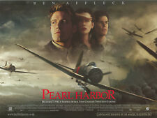 Pearl Harbor movie poster : Ben Affleck, Kate Beckinsale, Josh Hartnett