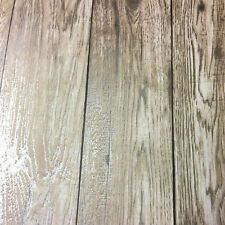 Loft Wood Natural Metallic Gold Wood Plank Wallpaper 3d Rustic Feature FD41958