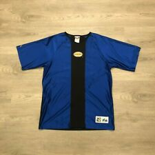 Vintage Miami Fusion FC Mens Majestic Blue Soccer Jersey Shirt Sz Large USA Made