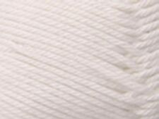 Patons Cotton Blend 8 Ply 50g Ball #01 White Soft Cotton/acrylic