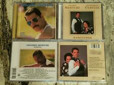 2 Discs Of  Freddie Mercury-Mr.Bad Guy 1985  Barcelona (M.Caballé) 1988 new