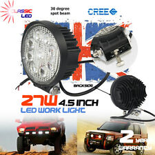 10 X 27w LED Work Light Spot Lamp ATV OffRoad Car Jeep Truck Boat Round 12V 24V