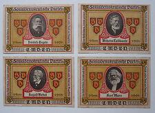 Sozialdemokratische Partei Emden - Werbewoche 1921 - 4 Propagandascheine