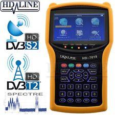 HD-LINE HD-7019 SATELLITEN Messgerät HD – TERRESTRISCH HD – SPEKTRUM DVBS