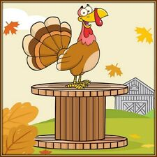 30 Custom Barnyard Turkey Personalized Address Labels