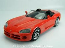 DODGE VIPER SRT-10 MODEL CAR 1:43 SCALE RED SPORTS DEAGOSTINI K8967Q