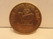 Red Rose Coin Club Medallion Electrified Trolley 100th Anniversary 1890-1990