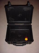 PELICAN CASE 1550 USED BLACK PHOTO DRONE CAMERA VIDEO MOVIE STORAGE SHIPPING