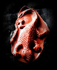 Lizard  -Silicone Mold-Candy Cookie Crafts Cake Pop Cupcake topper Clay