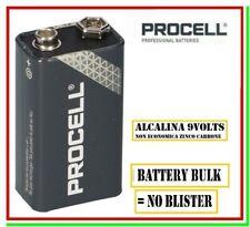 pila 9v procell batteria alcalina 9 volts transistor 9 v block industrial