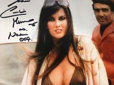 Caroline Munro autographed 8x10 photo COA 007 Spy Who Loved Me