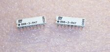QTY (100) 898-3-R47 BI TECH 16 PIN DIP CERAMIC 47 Ohm ISOLATED RESISTOR NETWORKS