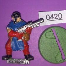 Cawdor Ganger w/ Lasgun - Necromunda Underhive - METAL 1995 Specialist Game