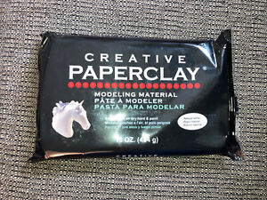 Creative Paperclay 16 oz Pack- Natural White