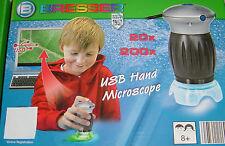 USB digitales Hand Mikroskop,1,3MP,20x/200x,Led,NEU