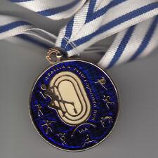 IAA Israeli Athletics Association Sport Games Medal, Bronze Gold Plated 50mm