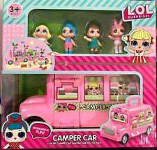 LOL Camper Auto Bus Van Überraschung Puppen Kinder Spielzeug Set Figuren